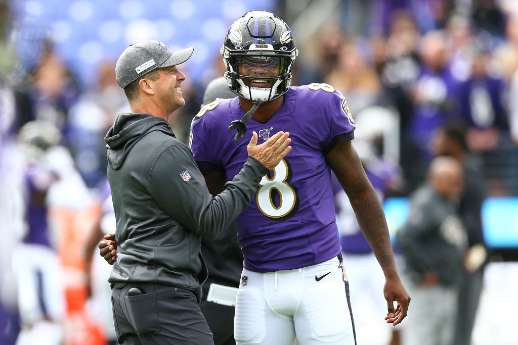 Lamar Jackson took home the 2019 NFL MVP, but his coach believes he can still improve.