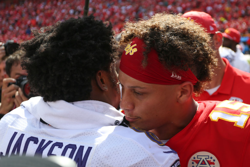 Lamar Jackson and Patrick Mahomes are two of the top quarterbacks in the NFL, and their teams can't afford for them to get hurt.