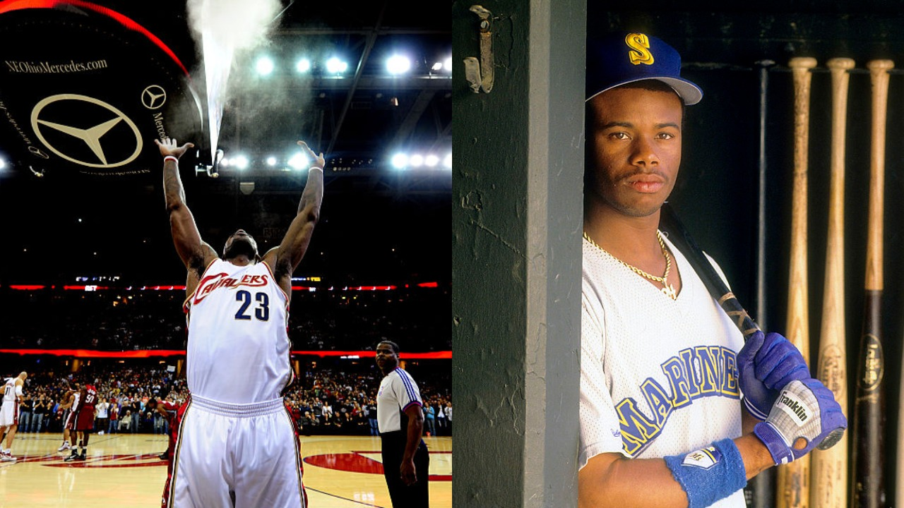 LeBron James Compares His Situation With the Cavaliers to Ken Griffey Jr.'s With the Mariners