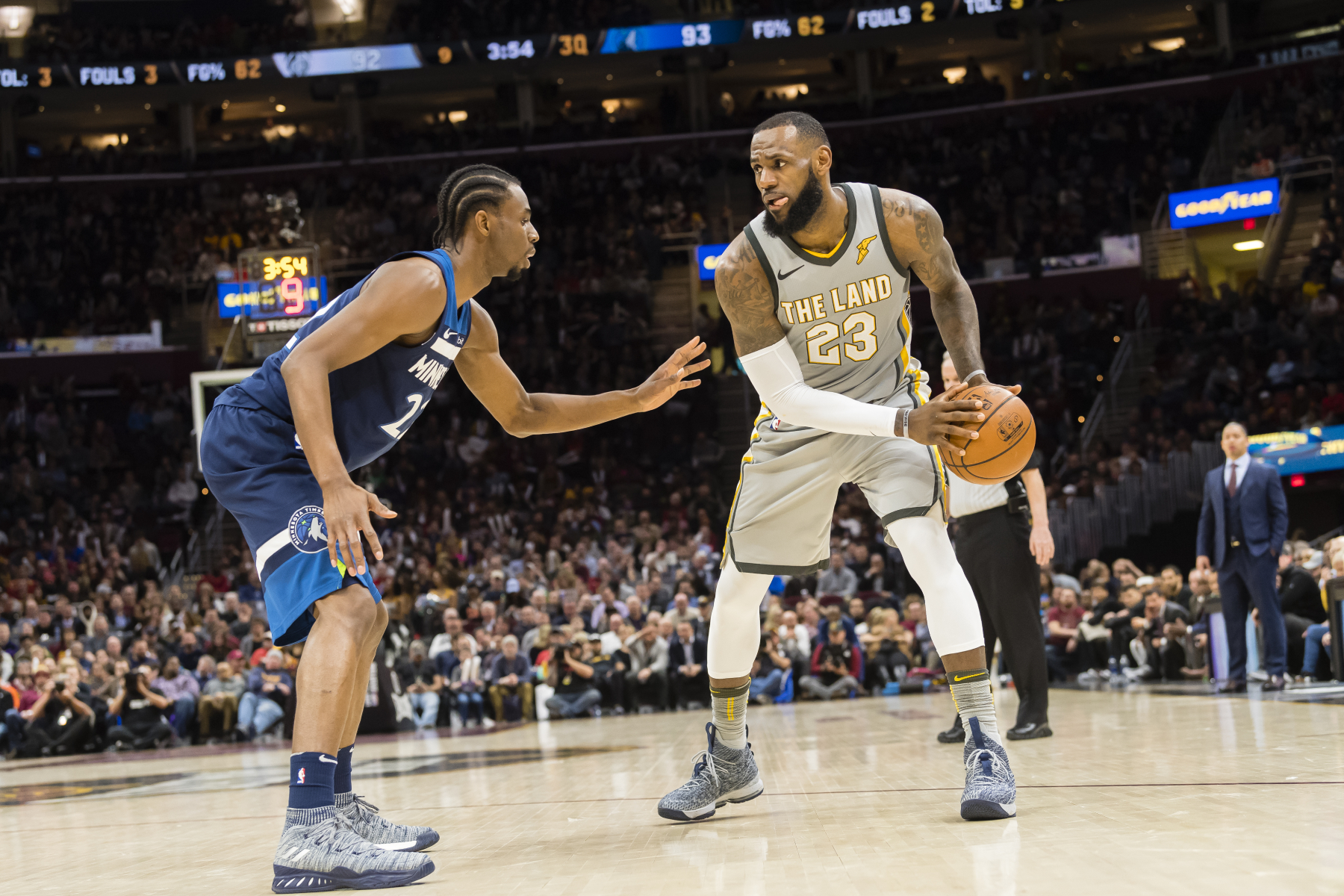 When LeBron James returned to the Cavaliers, he made one move that proved he probably had no intention of playing with Andrew Wiggins.