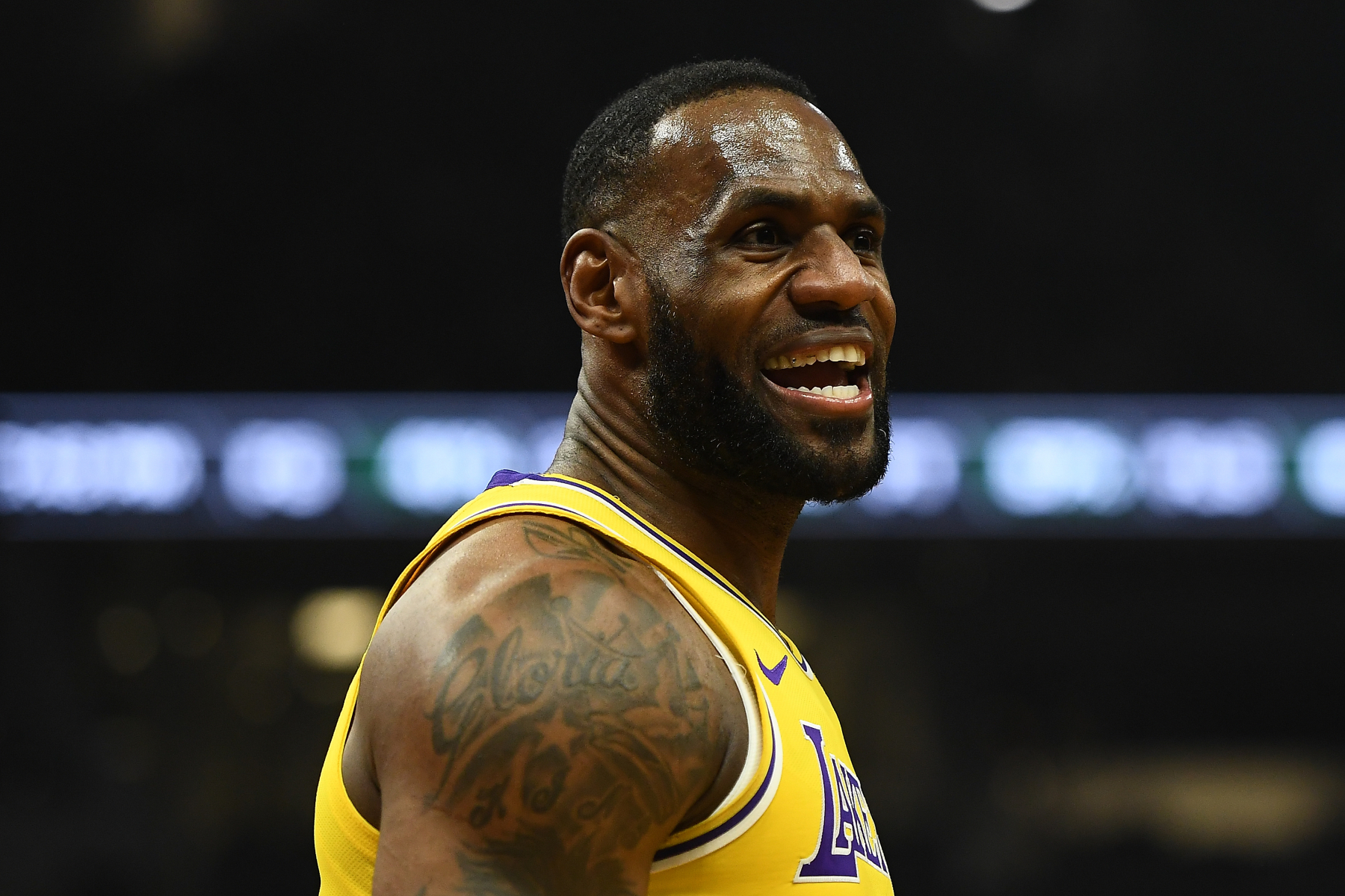 The NBA season is scheduled to resume at the end of July in Orlando. LeBron James, however, will be back on TV before that.