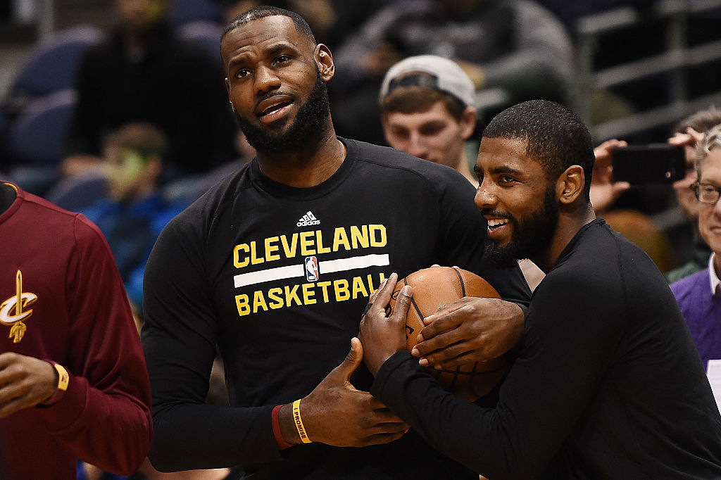 LeBron James and Kyrie Irving had a great three years together. LeBron James, obviously, has a higher net worth, but by how much?