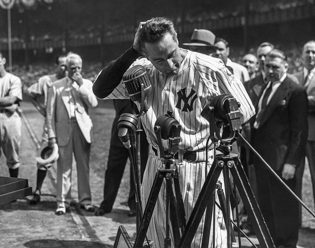After a battle with ALS, New York Yankees legend Lou Gehrig tragically died in 1941.