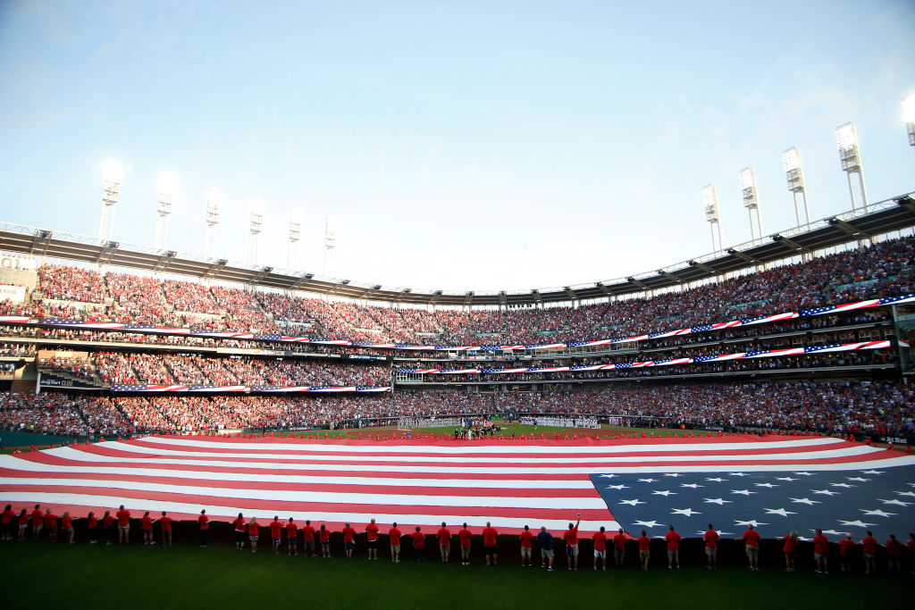 The National Guard paid one MLB team over $50,000 to play 'God Bless America' before games.