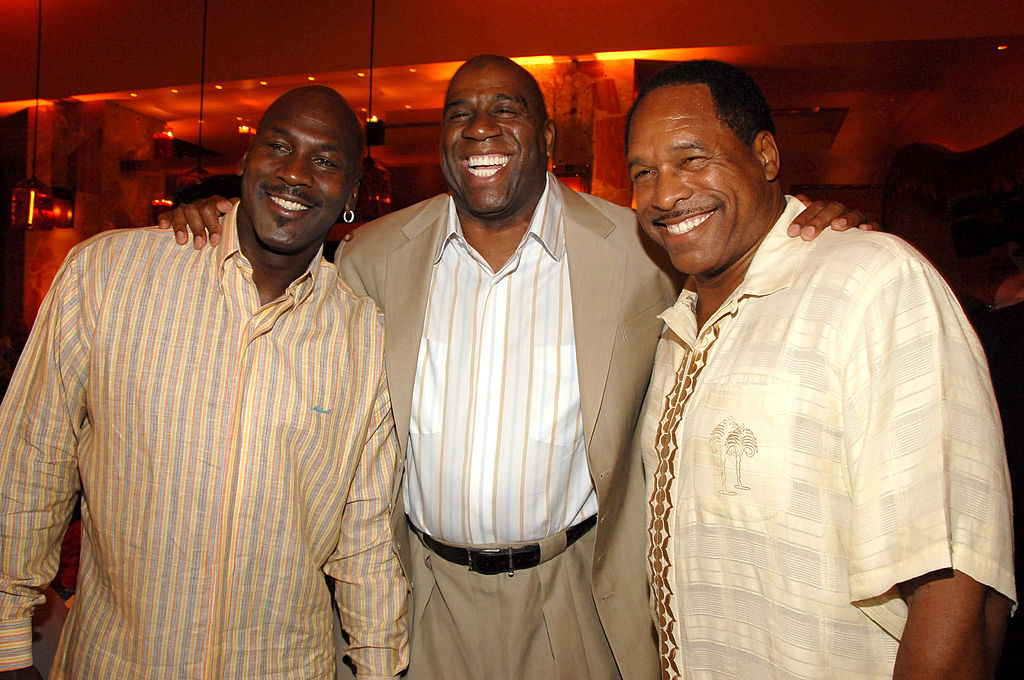 Magic Johnson and Michael Jordan are two NBA legends with incredible life stories.