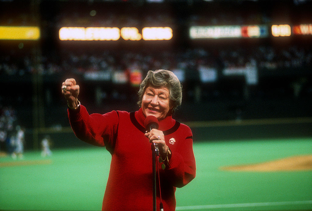Marge Schott's Racist Slurs Are Haunting Her Even After Her Death