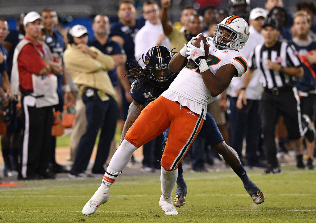 Former Miami Hurricanes tight end Michael Irvin II has a major opportunity on his hands at Florida Atlantic.