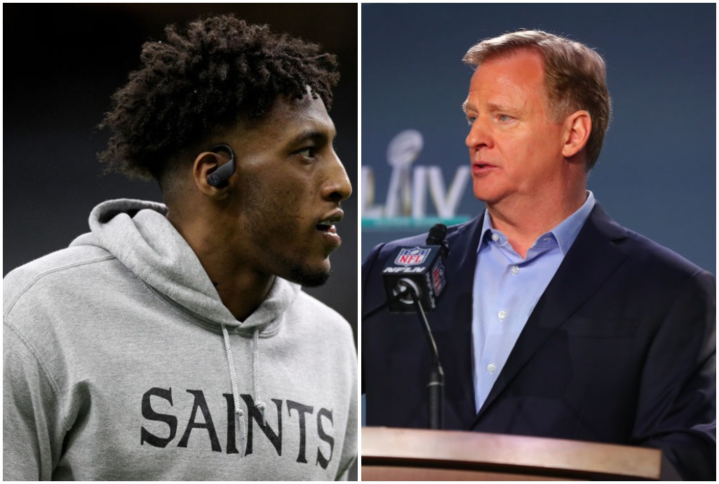 Roger Goodell finally said 'Black Lives Matter' because Michael Thomas answered a DM from a rogue NFL staff member.