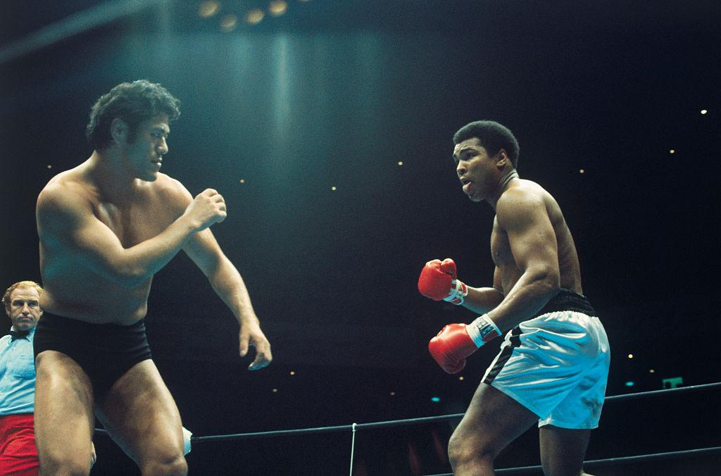 Muhammad Ali Antonio Inoki