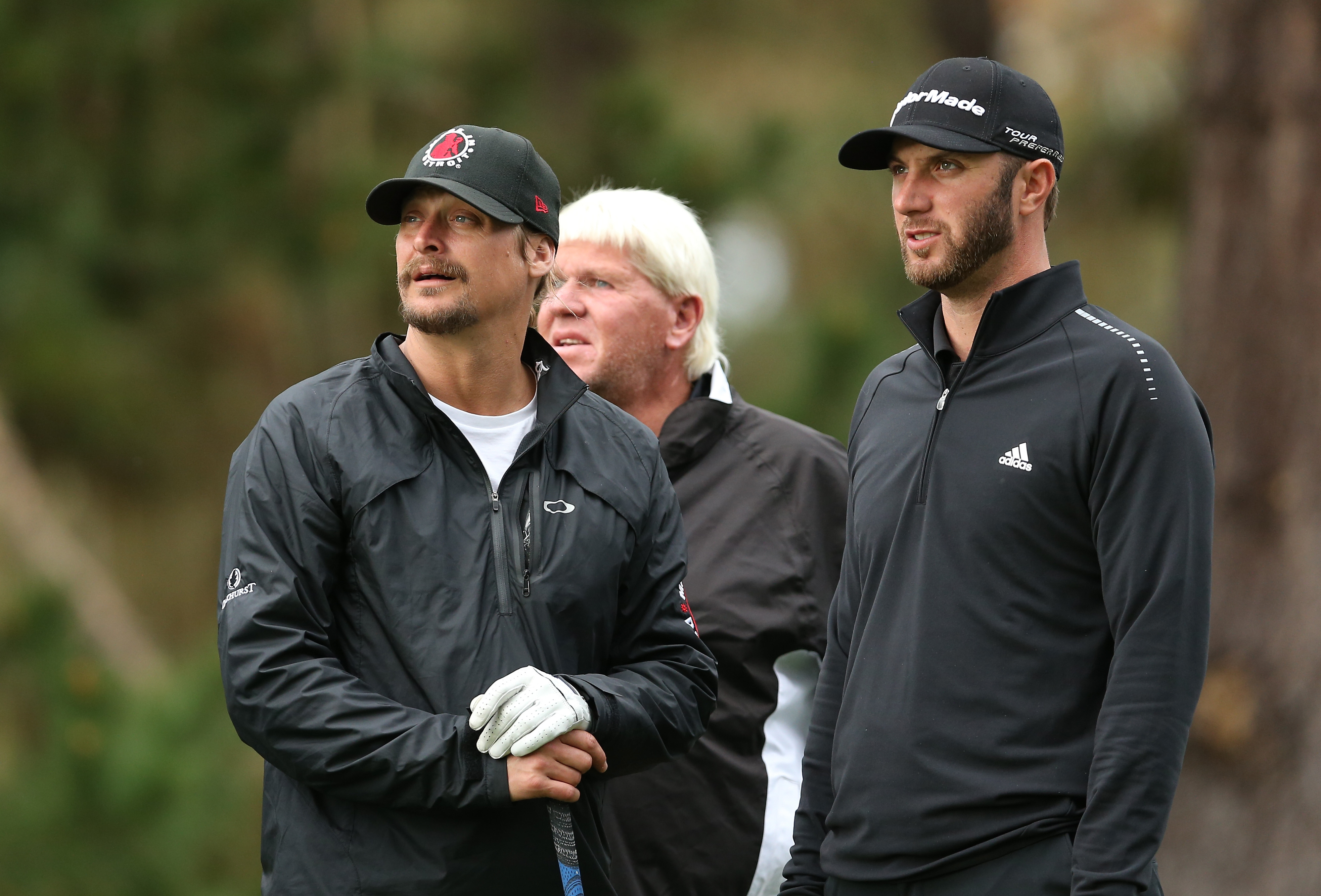 Kid Rock, John Daly, and Dustin Johnson