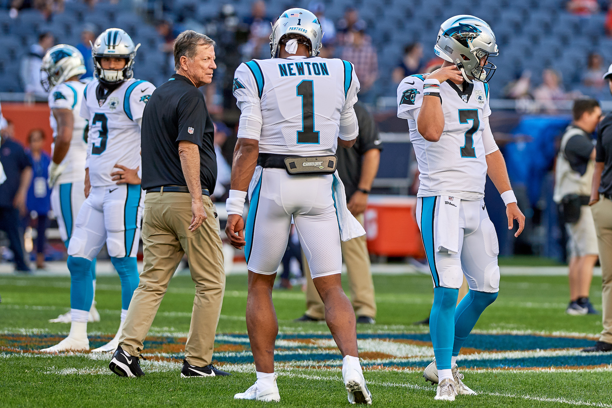 When Bill Belichick came calling, Norv Turner had plenty of praise for Cam Newton.