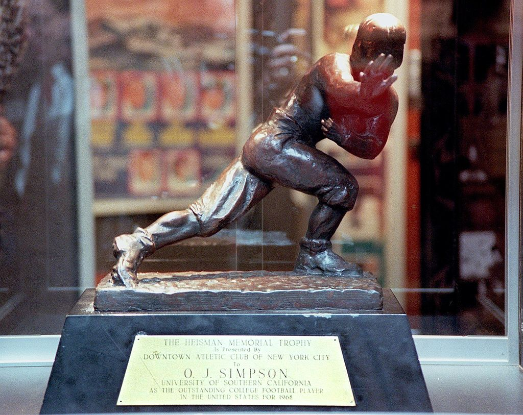 O.J. Simpson Heisman Trophy