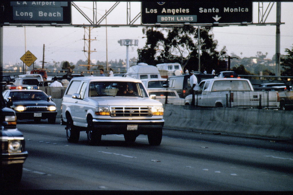 O.J. Simpson White Bronco