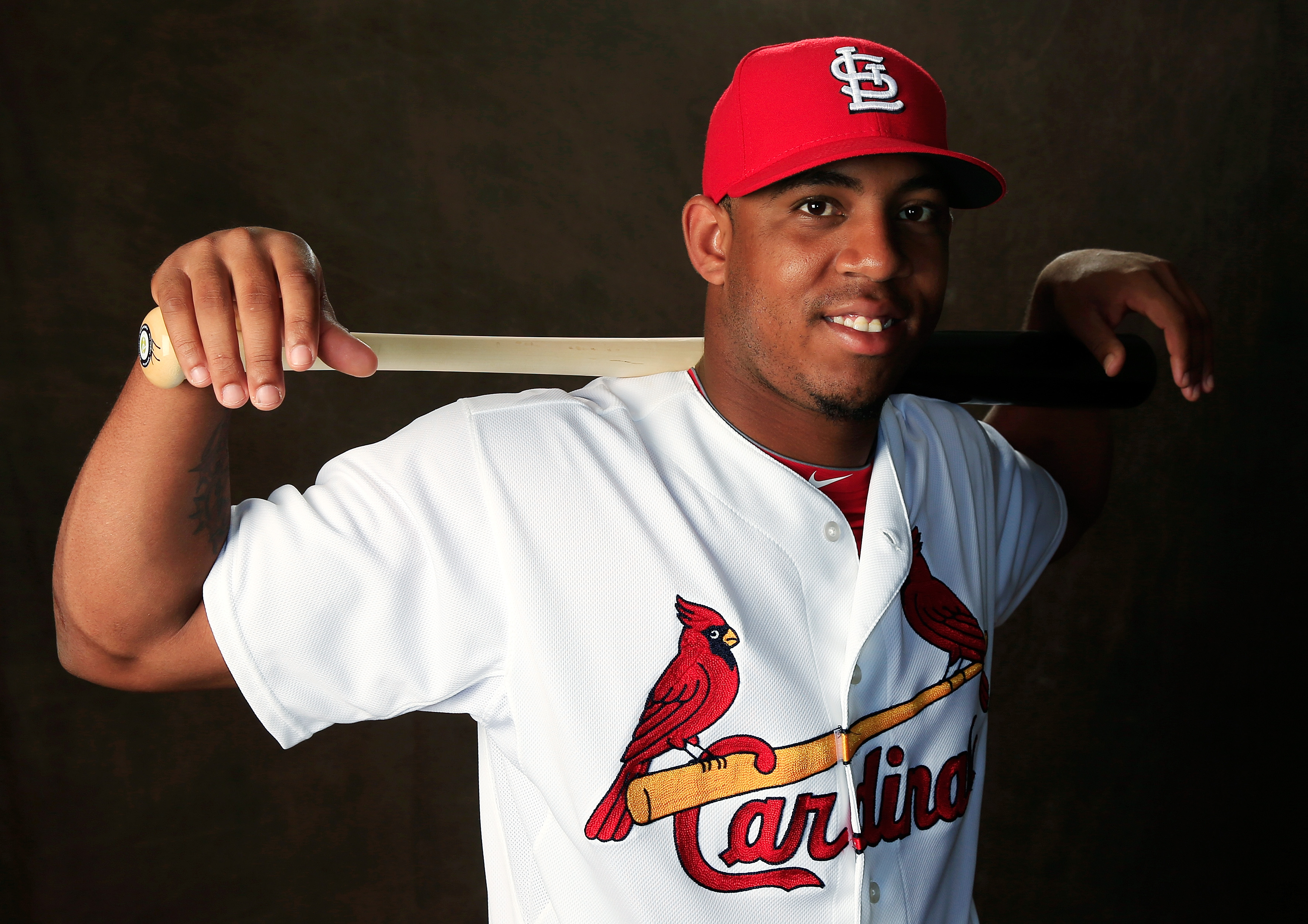 Former Cardinals outfielder Oscar Taveras