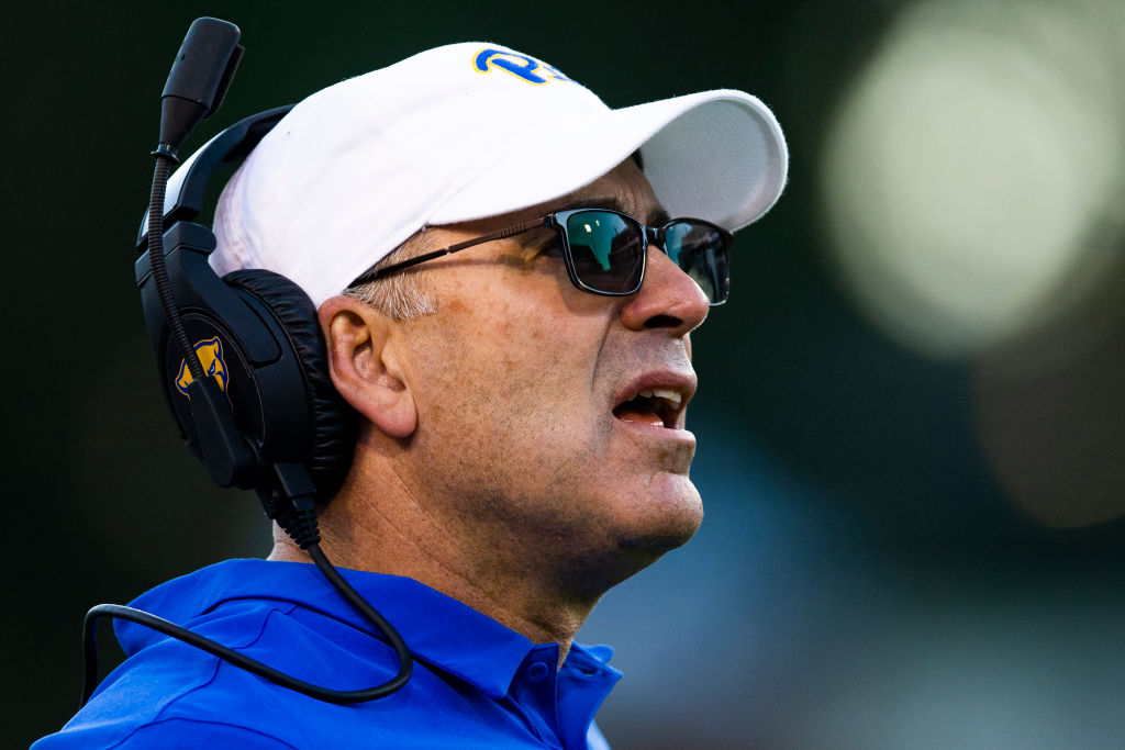 Pittsburgh Panthers head coach Pat Narduzzi is accused of extreme racist behavior.