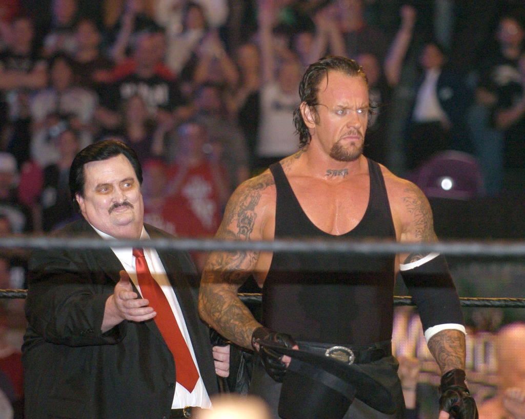 While Paul Bearer was a spooky mortician on the pro wrestling circuit, he also worked in a funeral home in real life.