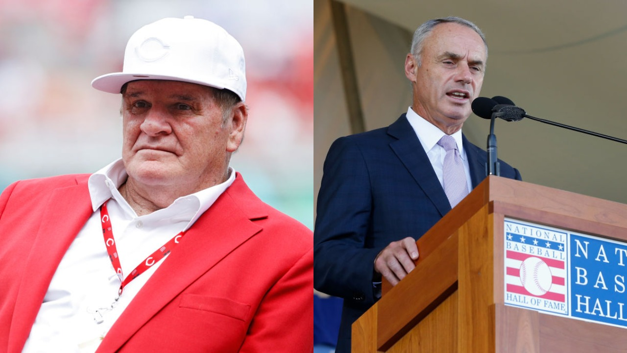 Pete Rose is banned from baseball after betting on the game. However, has commissioner Rob Manfred disrespected the game more?