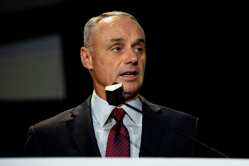 MLB commissioner Rob Manfred has a pretty large net worth. However, it might not be as high as you think it is.
