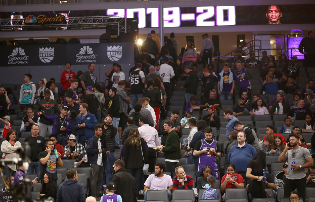 Longtime Sacramento Kings announcer Grant Napear resigned after a controversial 'All Lives Matter' tweet.