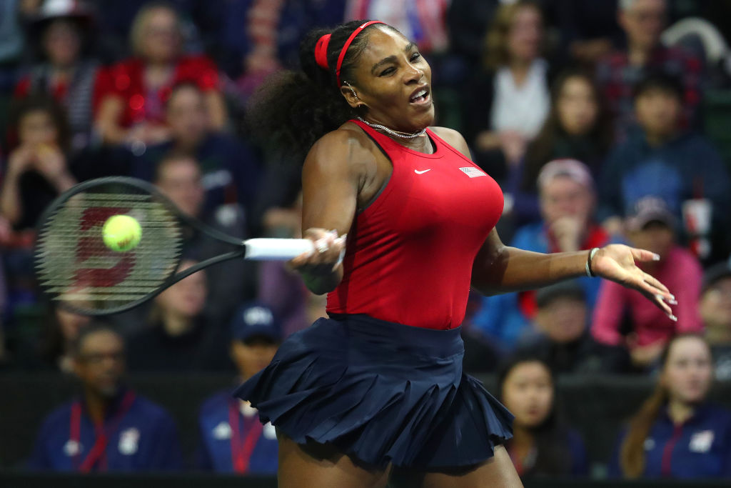 Serena Williams stared down death in 2017.