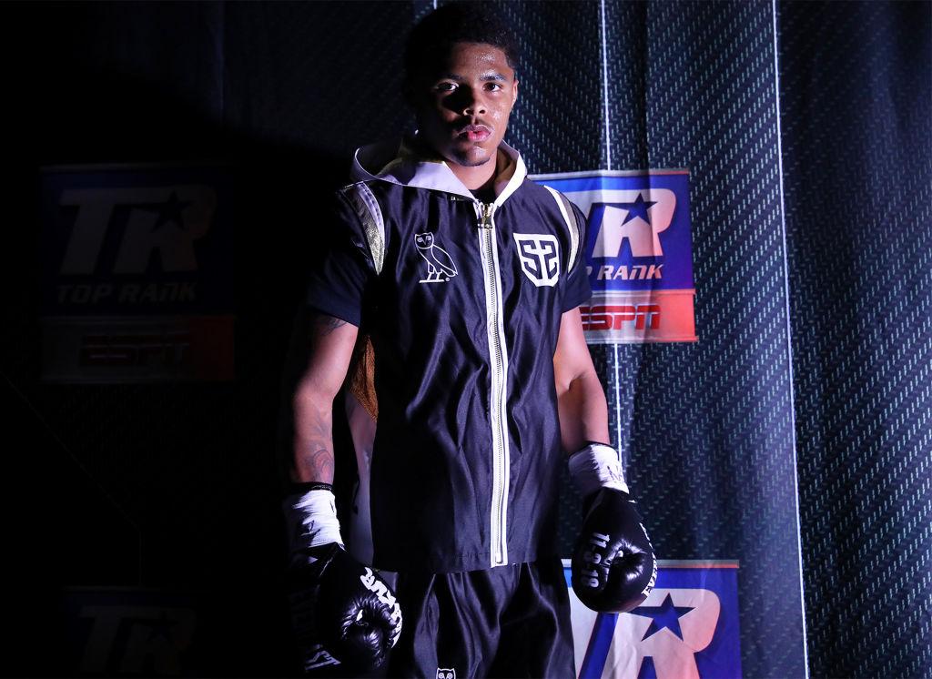 Boxer Shakur Stevenson in 2020