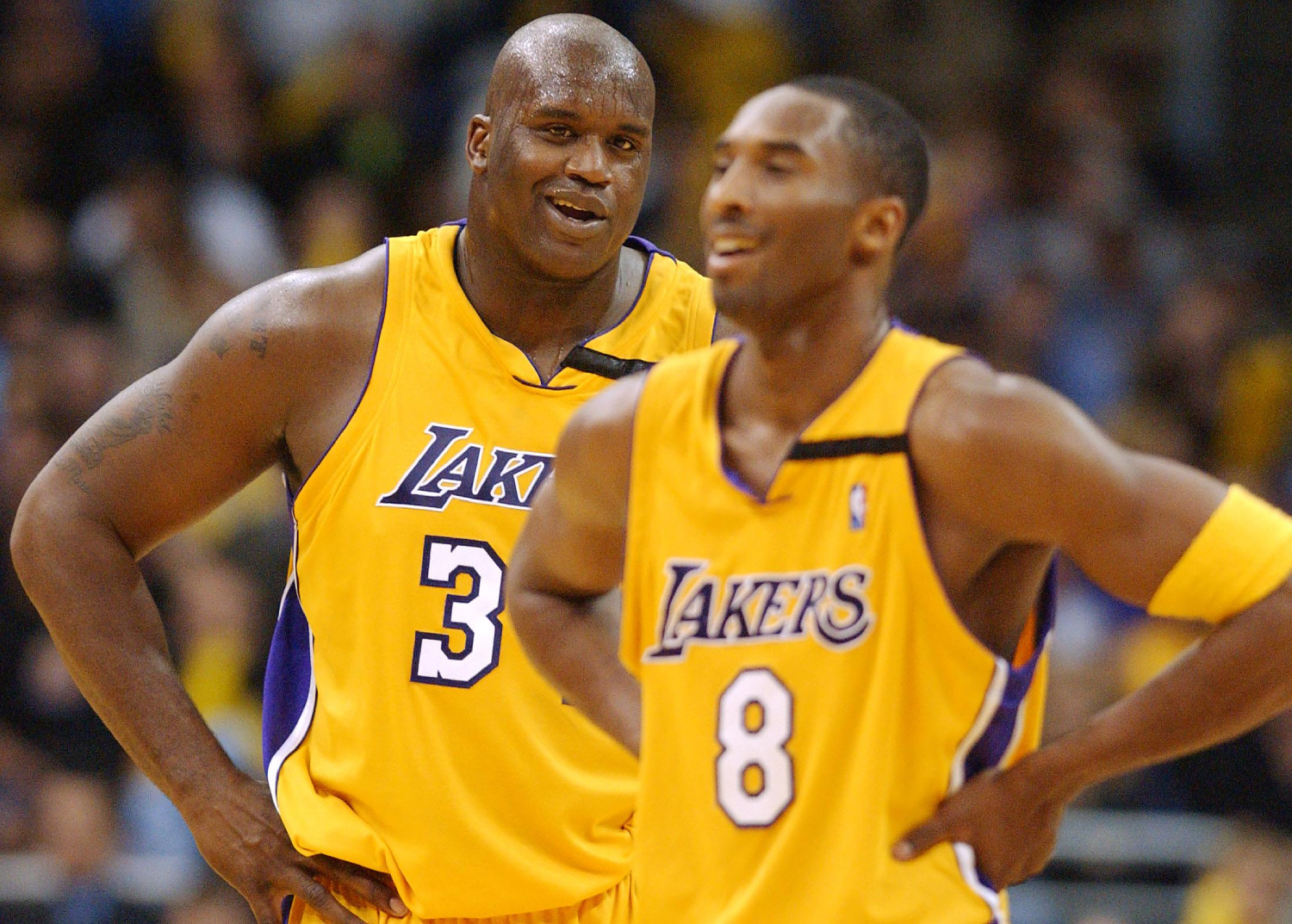 Shaq, Kobe Don't Win First Title Together Without Blazers' Epic Collapse
