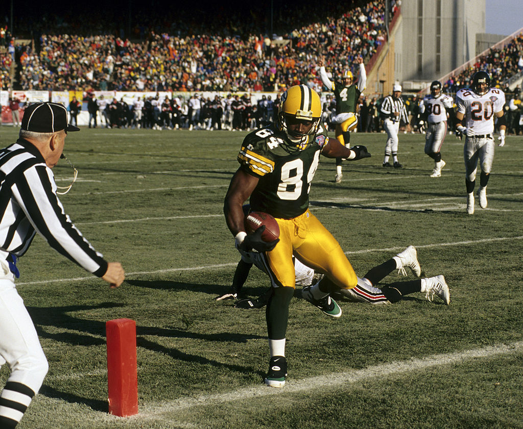 Former Packers great Sterling Sharpe