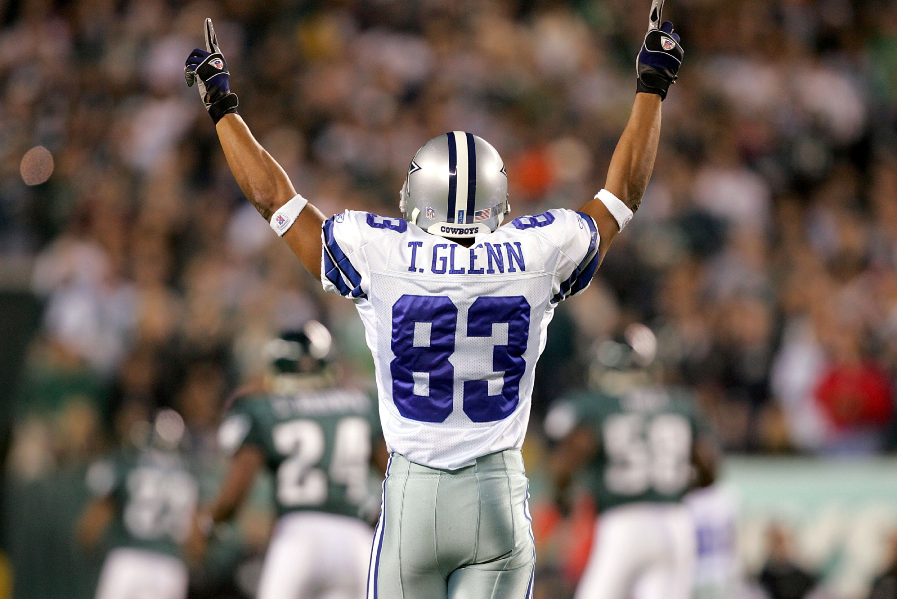 After succeeding at Ohio State, Terry Glenn had a nice career with the Dallas Cowboys and the Patriots. He tragically died too soon, though.