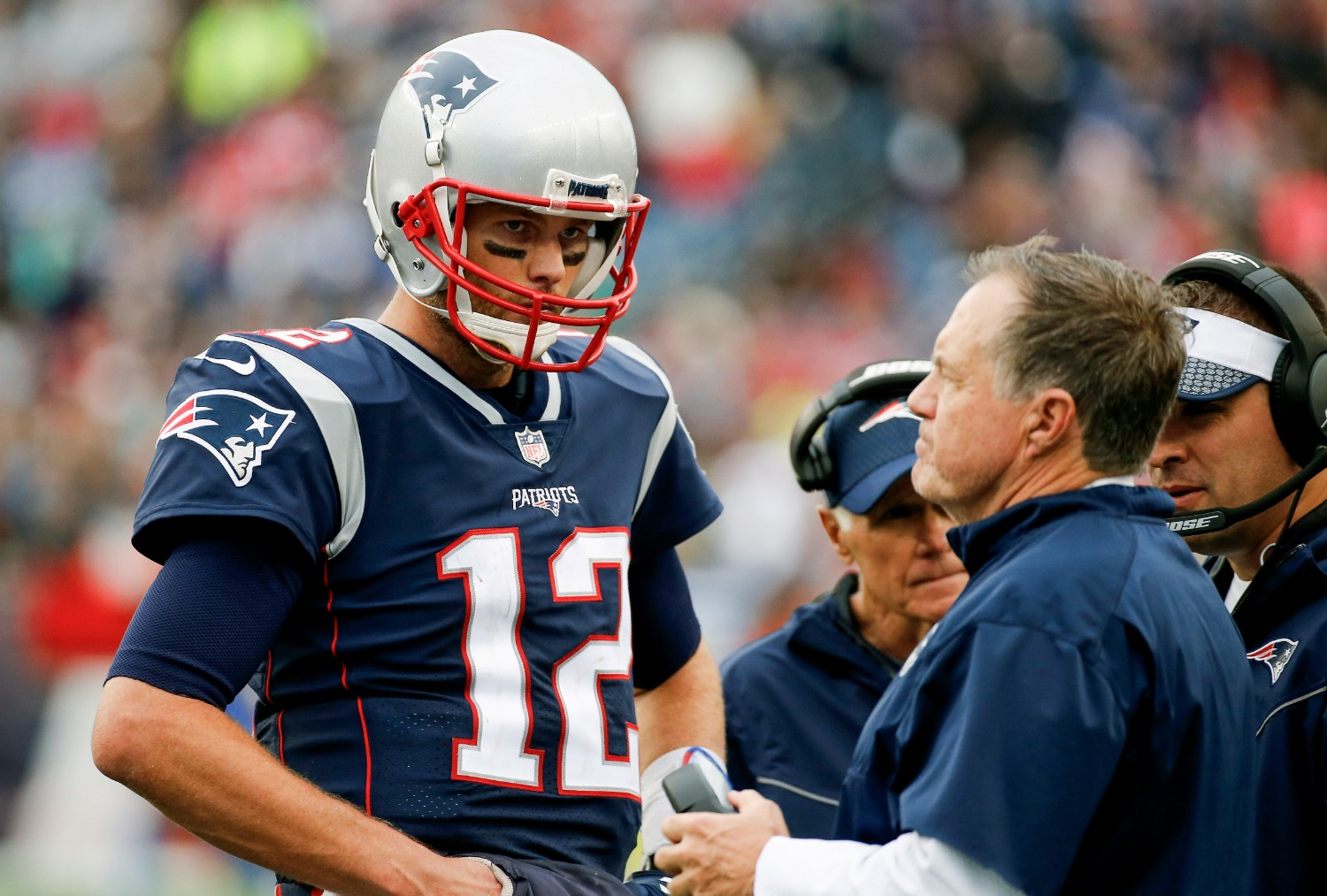 Tom Brady is out to prove Bill Belichick wrong for not bringing him back to the Patriots.