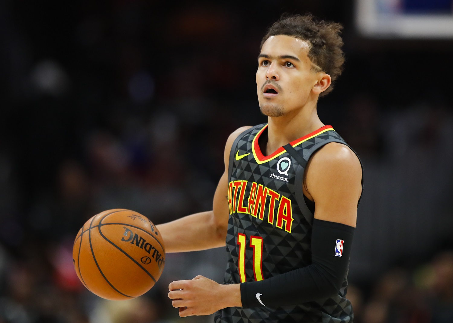 Hawks point guard Trae Young