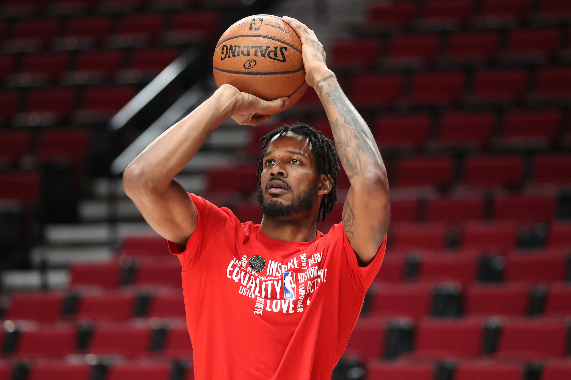 Trevor Ariza will be giving up a portion of his salary to spend time with his son.