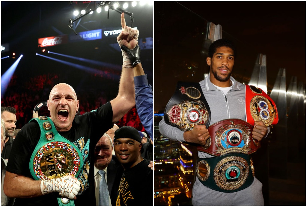 Tyson Fury and Anthony Joshua will earn millions when they square off in 2021.