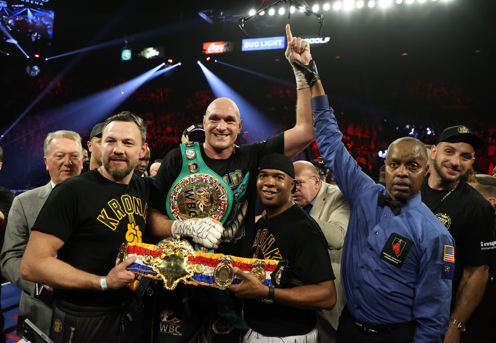 Tyson Fury Will 'Smash Deontay Wilder's Face' Before Fighting Anthony Joshua