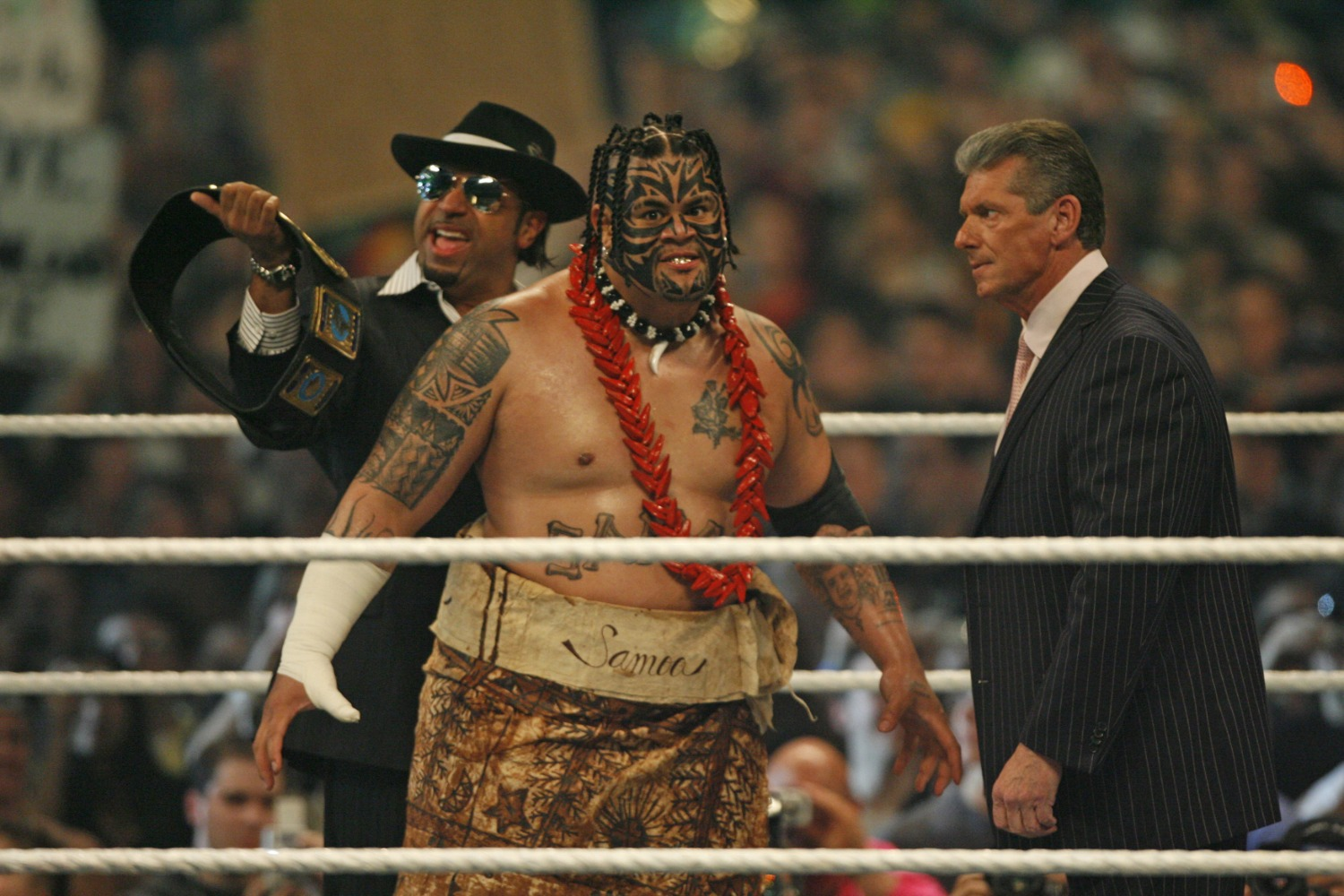 WWE superstar Umaga, who's real name was Edward Fatu, died in 2009 at the age of 36.