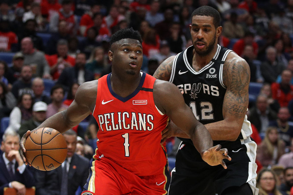 LaMarcus Aldridge will miss the rest of the season after having shoulder surgery. Could this potentially help Zion Williamson?