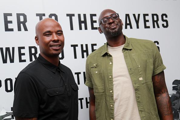 Quentin Richardson and Darius Miles