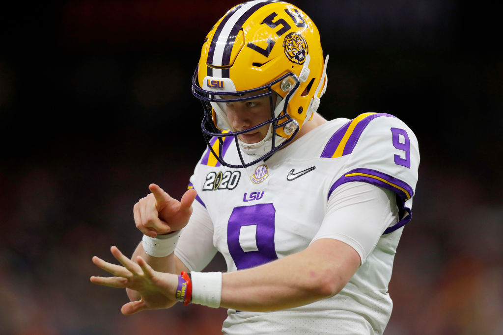 Joe Burrow is preparing for his rookie season with the Cincinnati Bengals. He still just earned one more award for his historic 2019 season at LSU.