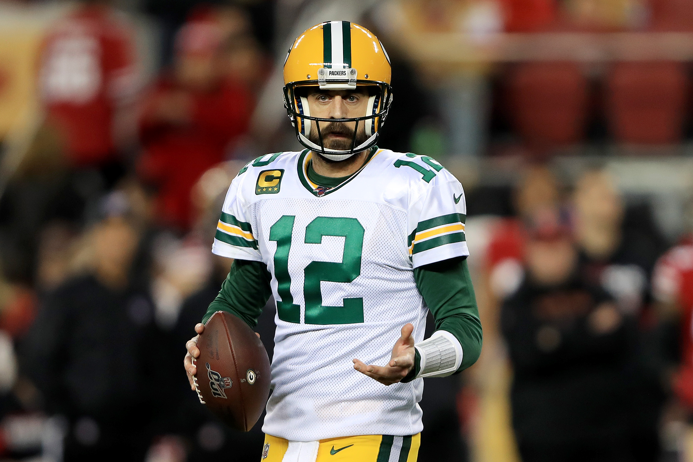 The Green Bay Packers sent Aaron Rodgers a $12 million message about his future.