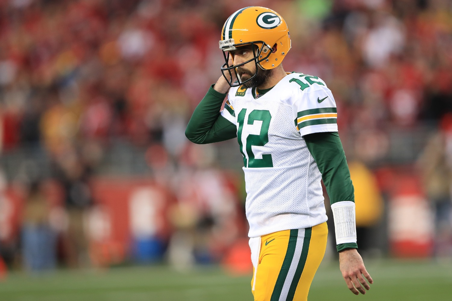 Aaron Rodgers just made a startling admission about how Jordan Love will impact his fate with the Packers.