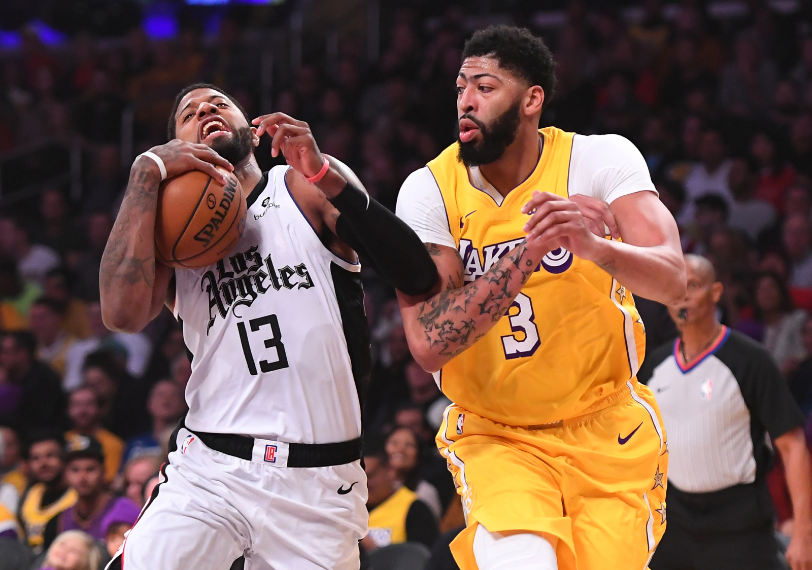 Anthony Davis and Paul George both have chances to win a championship this year for the Lakers and Clippers. Who has a higher net worth?