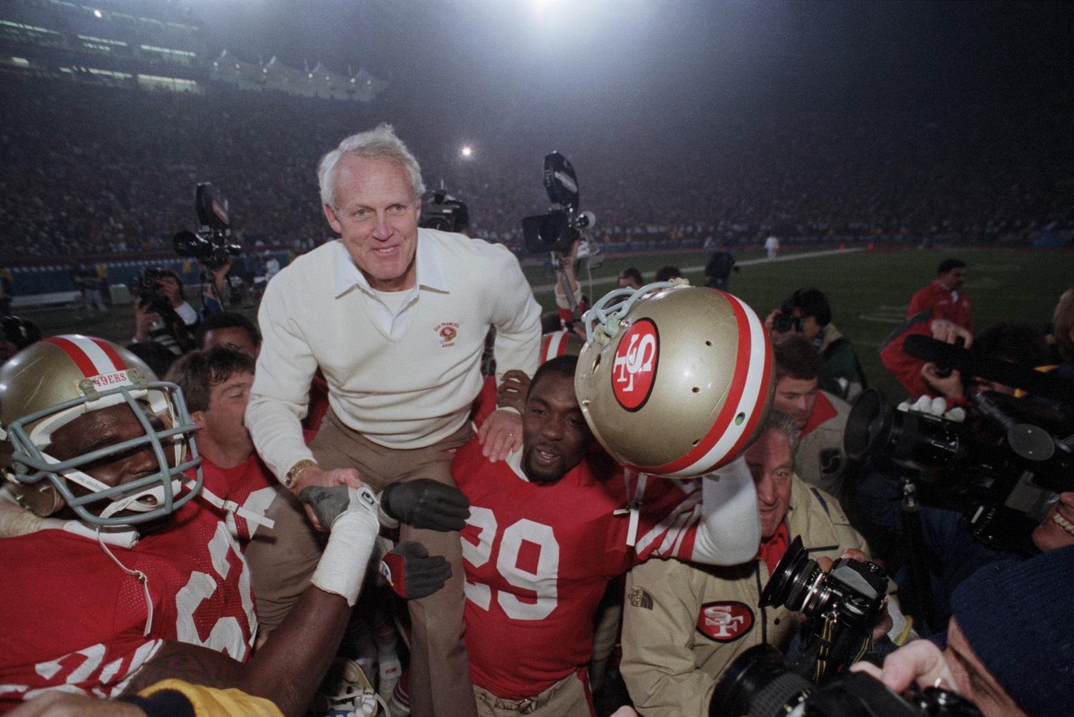 Former 49ers head coach Bill Walsh