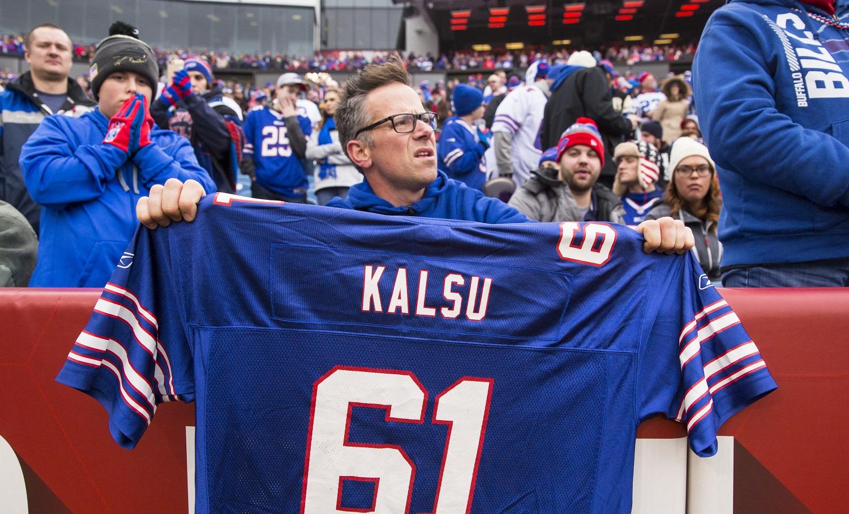 Bob Kalsu Buffalo Bills jersey