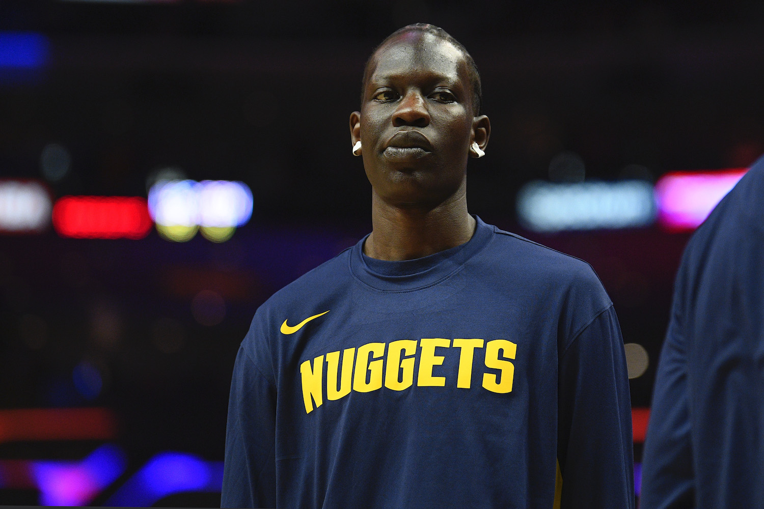 Bol Bol Is Manute Bol with Offensive Skills and a Major Chip on His Shoulder