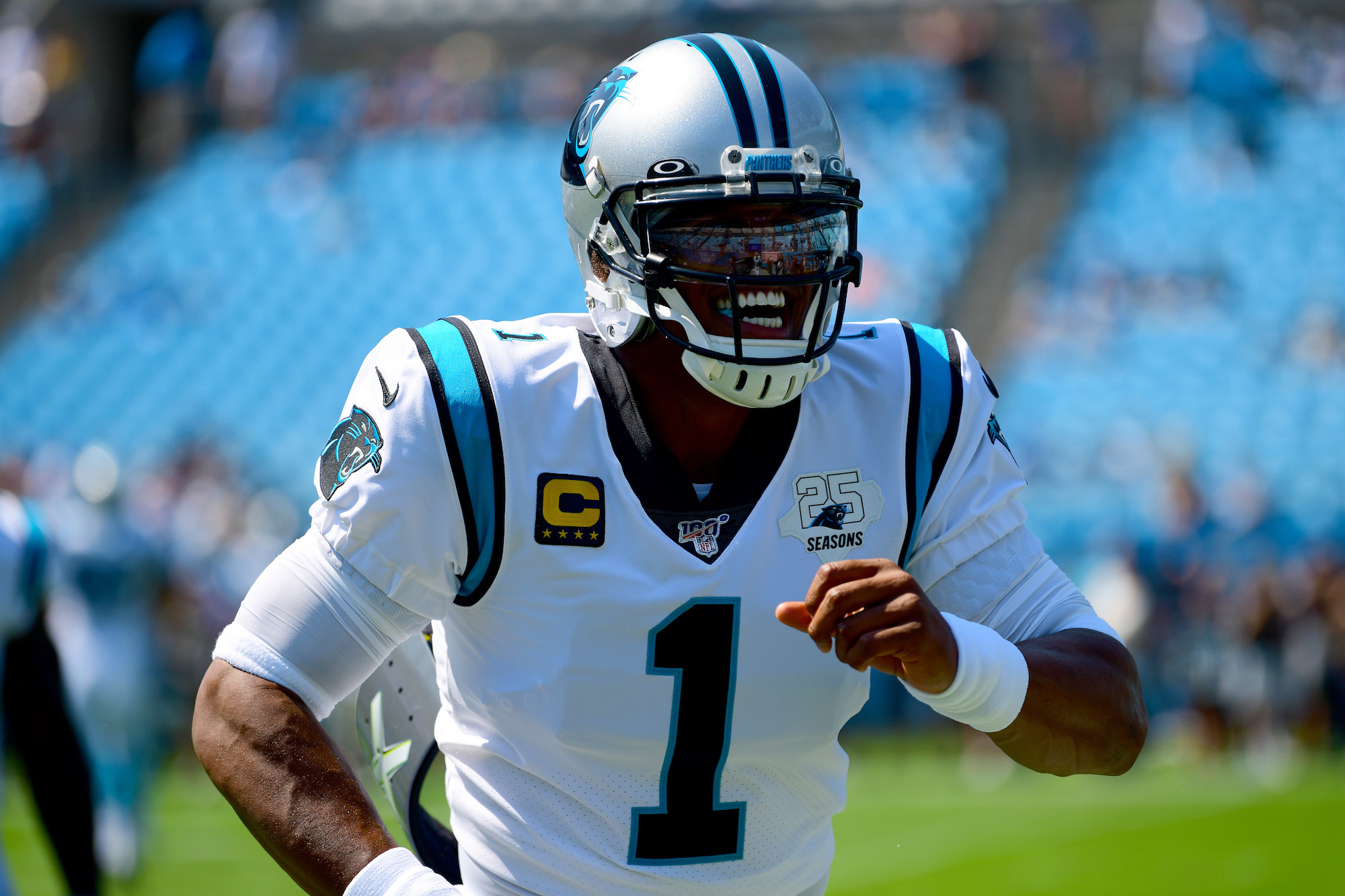 Cam Newton is certainly confident, but all the positivity in the world can't overcome injury issues.