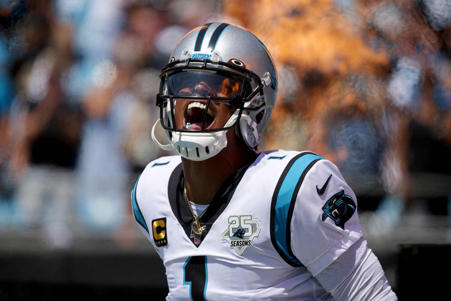 Cam Newton just delivered a message Patriots head coach Bill Belichick would apprecaite.