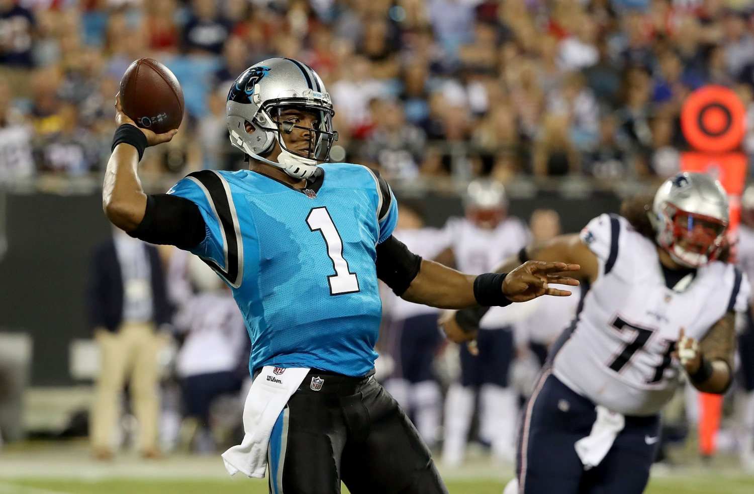 Cam Newton already did something no Patriots player has ever done under Bill Belichick.