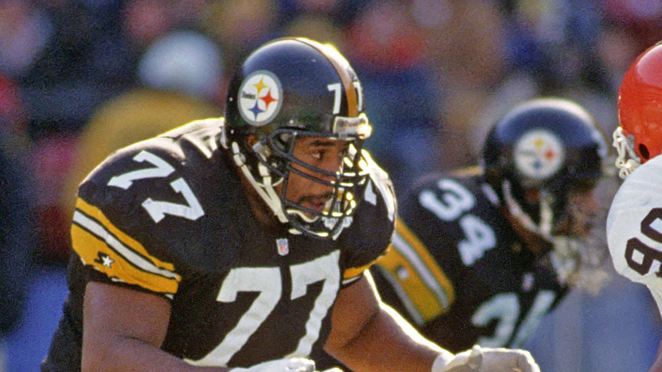 Carlton Haselrig, PIttsburgh Steelers