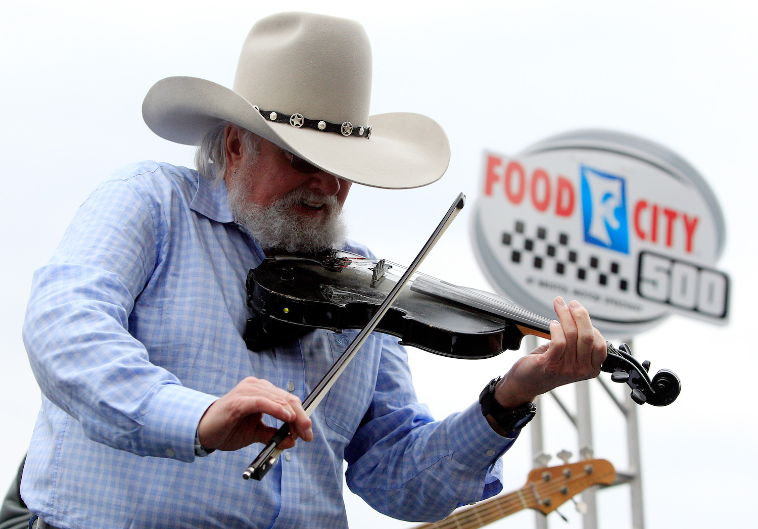 Charlie Daniels performs at NASCAR Event