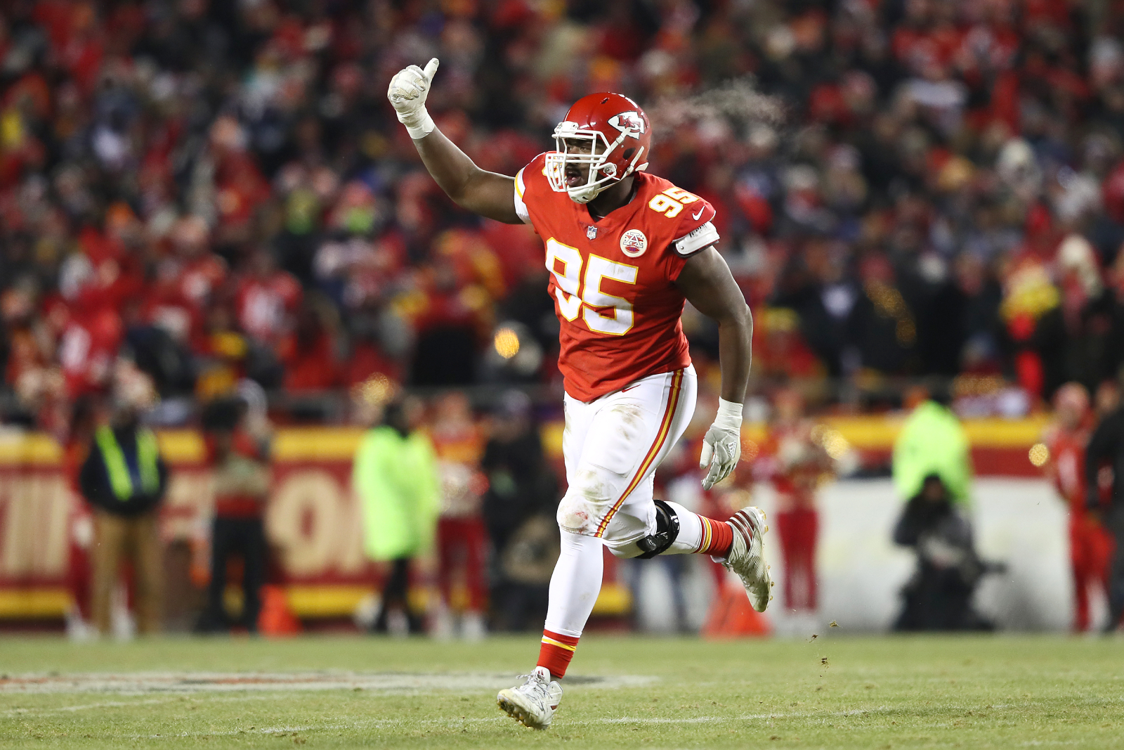 The Kansas City Chiefs already have a large target on themselves after winning the Super Bowl. Chris Jones just made that target larger.