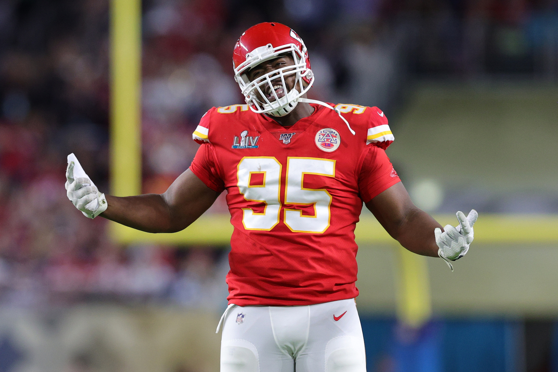 Kansas City Chiefs defensive lineman has earned less than $50,000 per tackle in the NFL